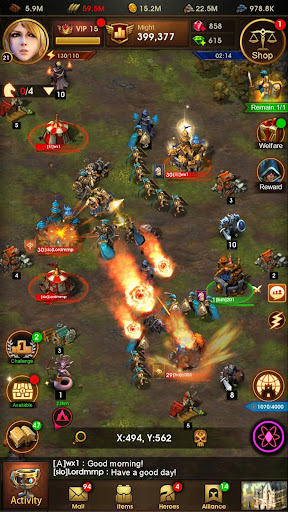Glory of Thrones: War of Conquest 1.0.4 screenshots 6