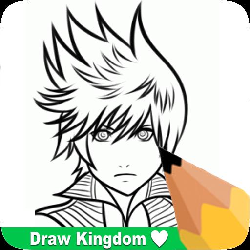 How To Draw Kingdom He Arts 3 遊戲 App LOGO-硬是要APP