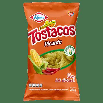 Pasabocas Ramo Tostacos   Picantes Familiar X200g