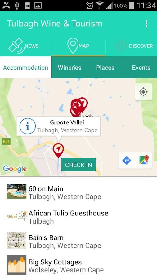 Tulbagh Wine & Tourism- screenshot
