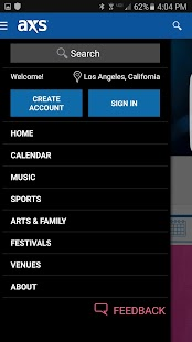 AXS Tickets, Concerts & Sports- screenshot thumbnail