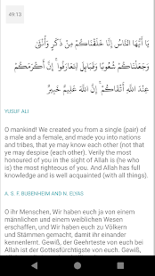 Quran für Android Screenshot