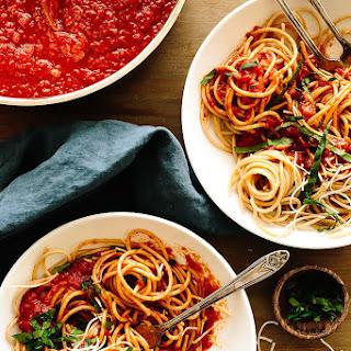 Spaghetti with Nana'S Red Sauce Recipe
