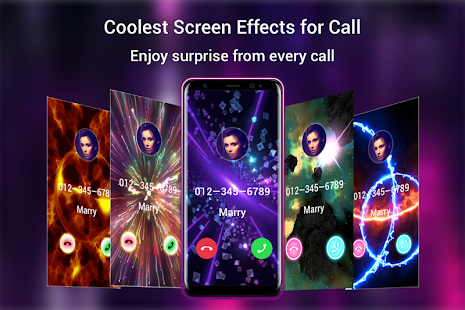 Call Screen Themes Kostenlose Themen Coole Effekte Android Apps