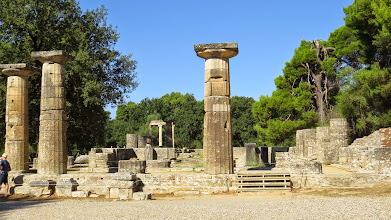 Photo: Temple of Hera for the women's games