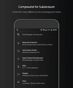 Compound for Substratum (Android Pie/Oreo/Nougat) Screenshot