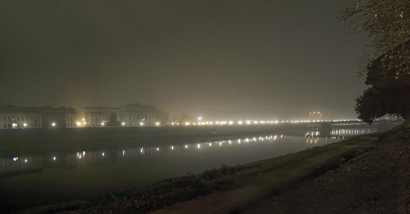 Nebbia sui lungarni di Patrix