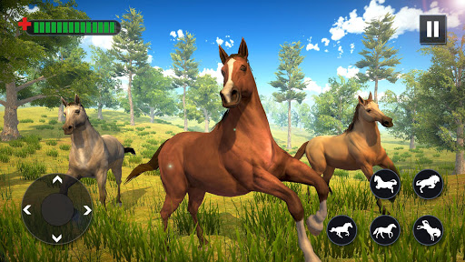 Wild Horse Family Simulator : Horse Games  screenshots 6