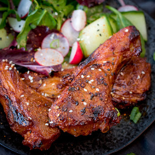 Korean Style Lamb Cutlets Recipe