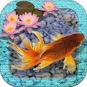 3D Goldfish Pond LWP icon