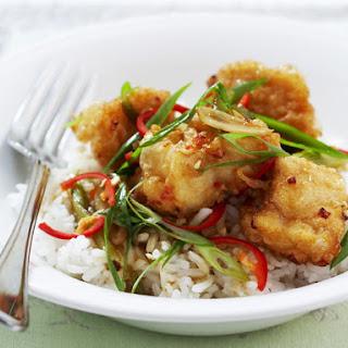 Crispy Chili Fish.