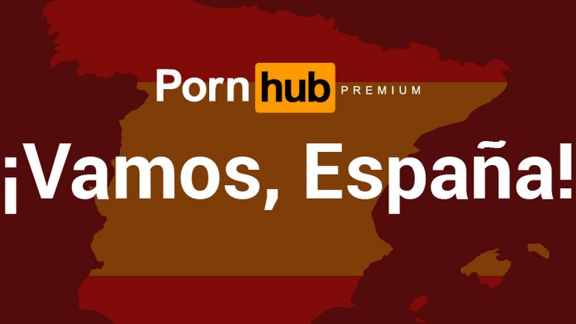 Anuncio de la compañía con su apoyo a España.