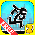 Stick City Run 2: Running Game icon