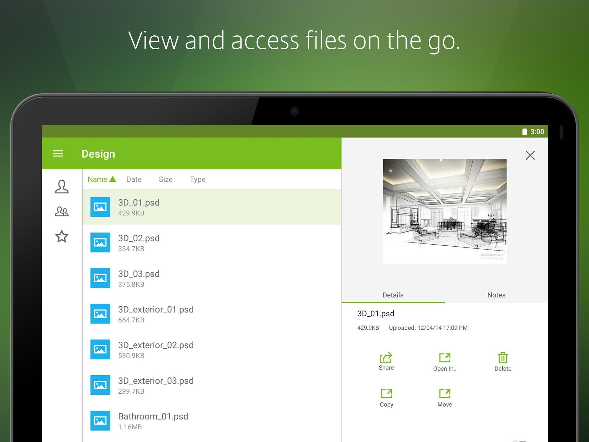 Citrix ShareFile for Tablets screenshot #9
