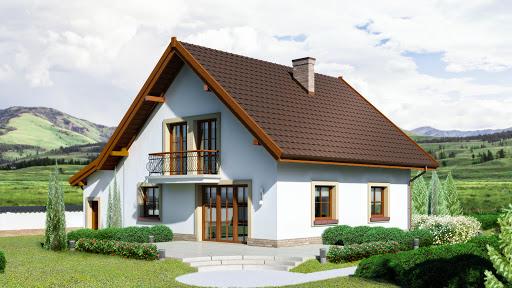 projekt Dom przy Oliwkowej 2 H