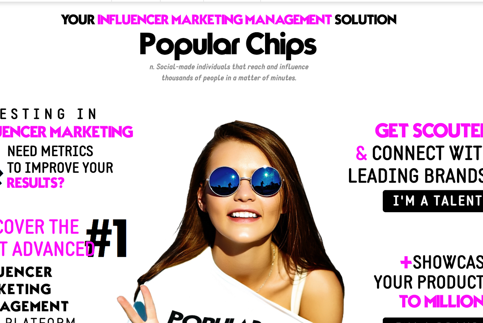 Popular Chips - Your Influencer Marketing Management Solution