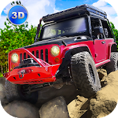 Offroad Rock Crawler Driving