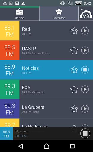 Radio Mexico Radios MX