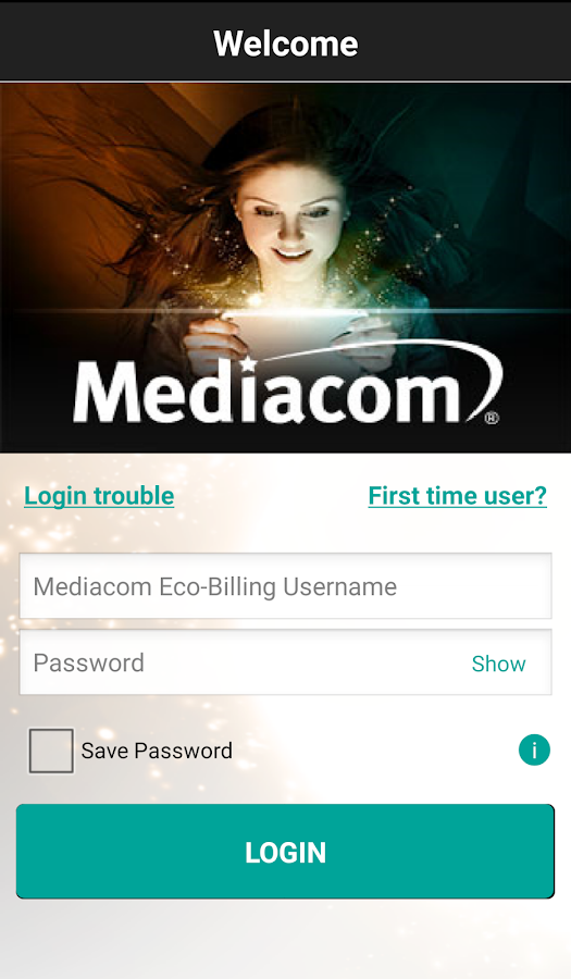 MediacomConnect- screenshot