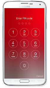 Passcode Lock Screen screenshot 1