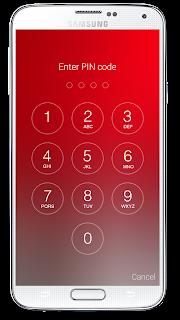 Passcode Lock Screen screenshot 01