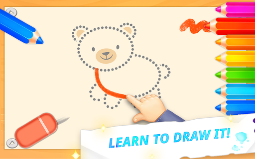 Drawing for toddlers ud83cudfa8 coloring games for kids cheat screenshots 3