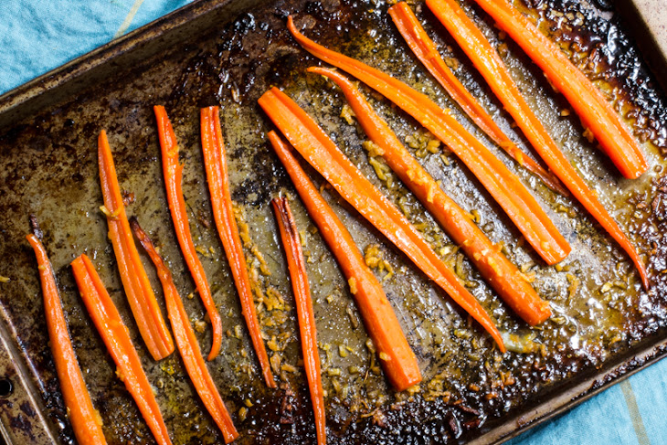 Citrus Roasted Carrots with Ginger Recipe