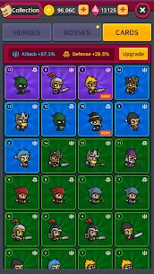 Merge Battle Heroes MOD (Unlimited Diamonds) 3