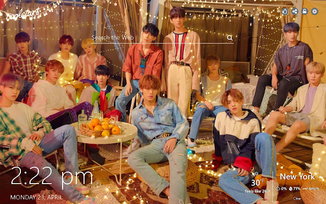 Seventeen HD Wallpapers Kpop New Tab Theme