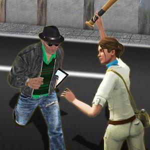 Street Gangster chase : Vegas Crime Escape Sim