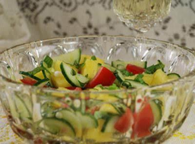 Summer Gazpacho Salad Recipe