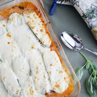 No-Noodle Vegetarian Zucchini Lasagna.