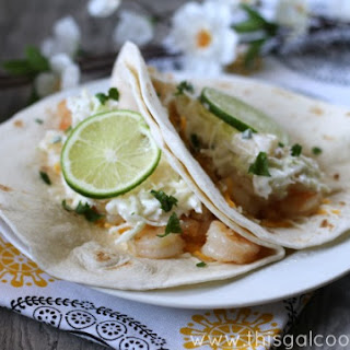 Tequila Lime Shrimp Tacos // Spiked! Recipe Challenge