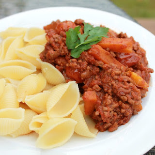 Simple Slow Cooker Bolognese Sauce.