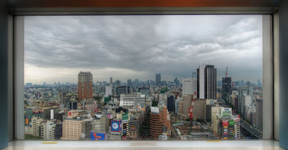 Photo: A view out the window in Tokyo  There is very little sleeping and a whole lotta photography in Tokyo! :)