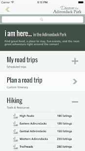 Discover the Adirondack Park- screenshot thumbnail