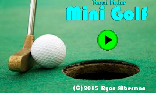 Touch Putter Mini Golf