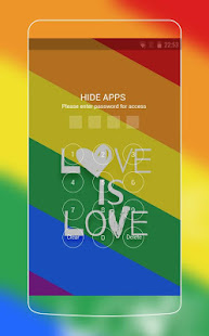 Rainbow Pride ThemeLove Wins Wallpaper For Androd Appar Pa Google