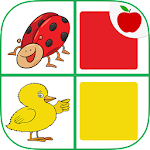 Match Colors! Kids Memory Game Icon