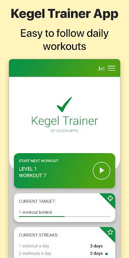Kegel Trainer - Exercises 7.1.0 screenshots 1