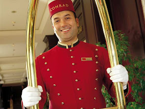 Photo: At Conrad Brussels you will find a warm welcome and the personalized care that will make your stay unforgettable.