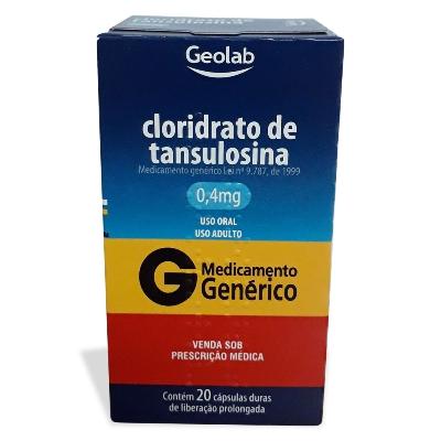 Tamsulosina Geolab 0,4 mg x 20 Capsulas