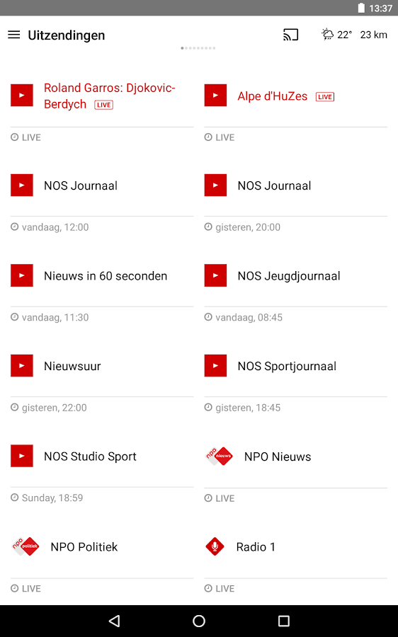 NOS- screenshot