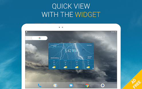 Weather & Radar Pro Ad-Free- screenshot thumbnail