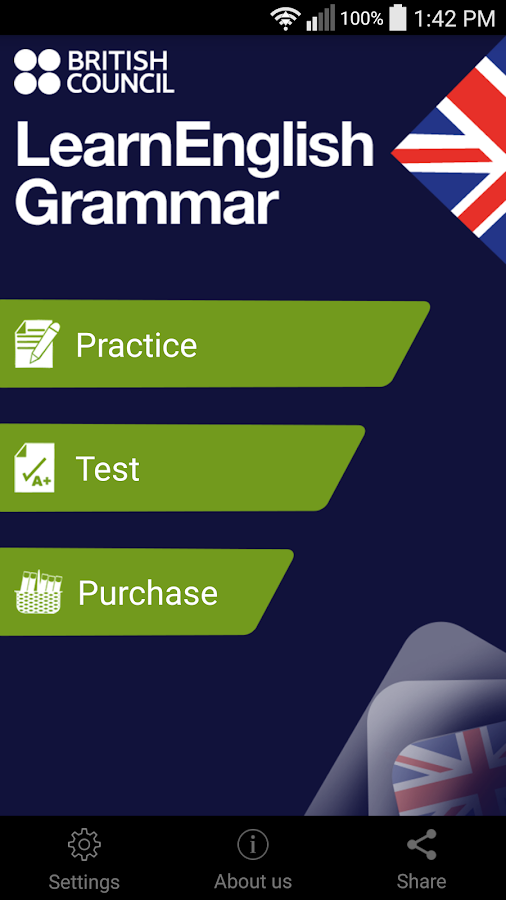 LearnEnglish Grammar (UK ed.)- screenshot