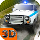 Russian Police Chase 3D icon
