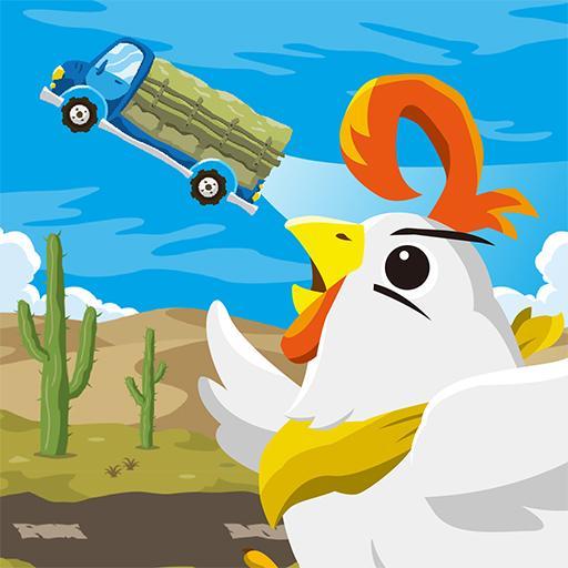 Não deixe seu frango voar para longe!