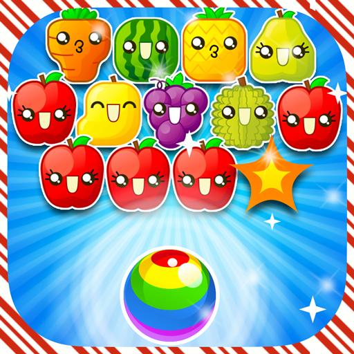 バブルのシューティング ゲーム フルーツ 休閒 LOGO-玩APPs