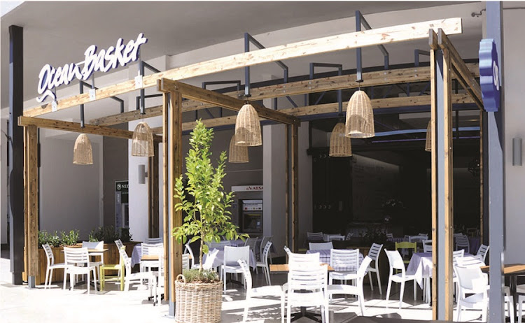 Ocean Basket — which hasn't been updated for 10 years — is undertaking a staggered rebranding exercise across all its outlets, with a time frame of five years for completion. Picture: SUPPLIED