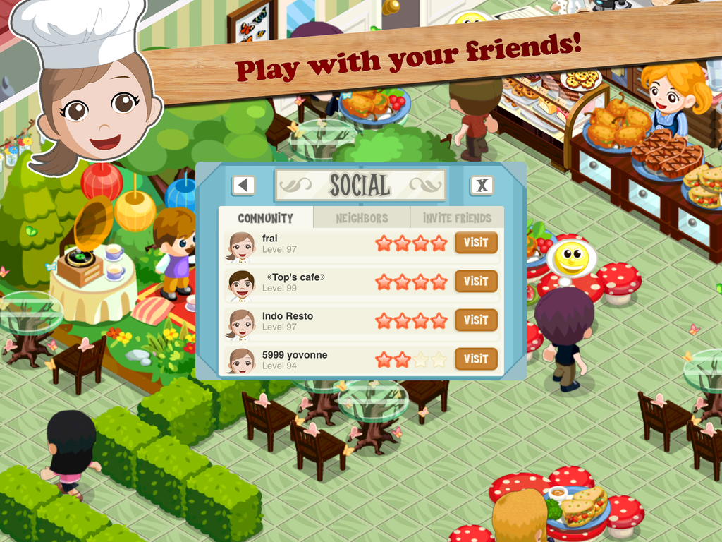 Restaurant Story: Food Lab- screenshot